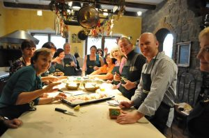 Hands on cooking class in Soriano and Viterbo, full menu to prepare in private house and villa in Soriano