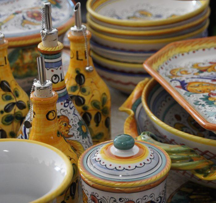Ceramic lesson in Umbria