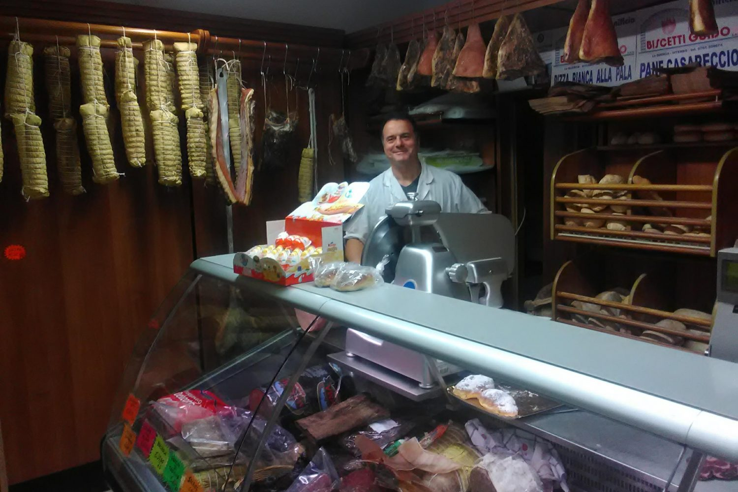 Visit food shop in Viterbo
