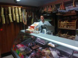 Visit food shop in Viterbo