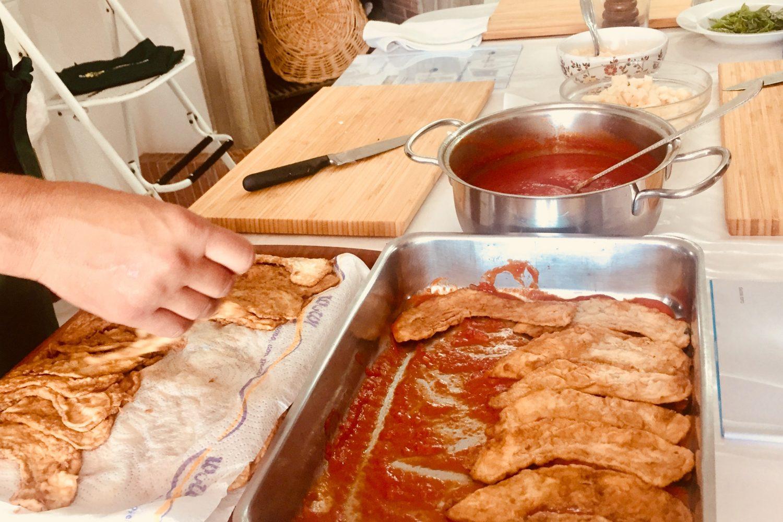 Cooking in Amalfi Coast