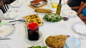 Family style cooking class Amalfi
