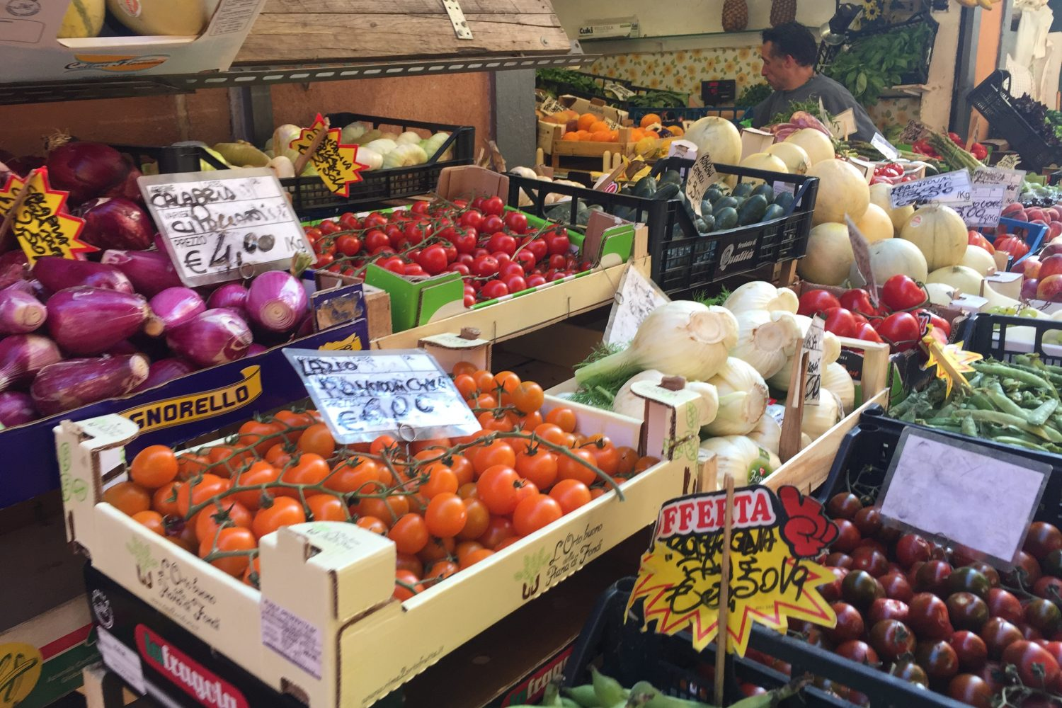 Food tour and visit to local market in Viterbo, Soriano Italy, Tuscia Italy