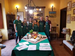 Cooking with local in Soriano and Viterbo