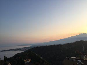 Etna View from Taormina