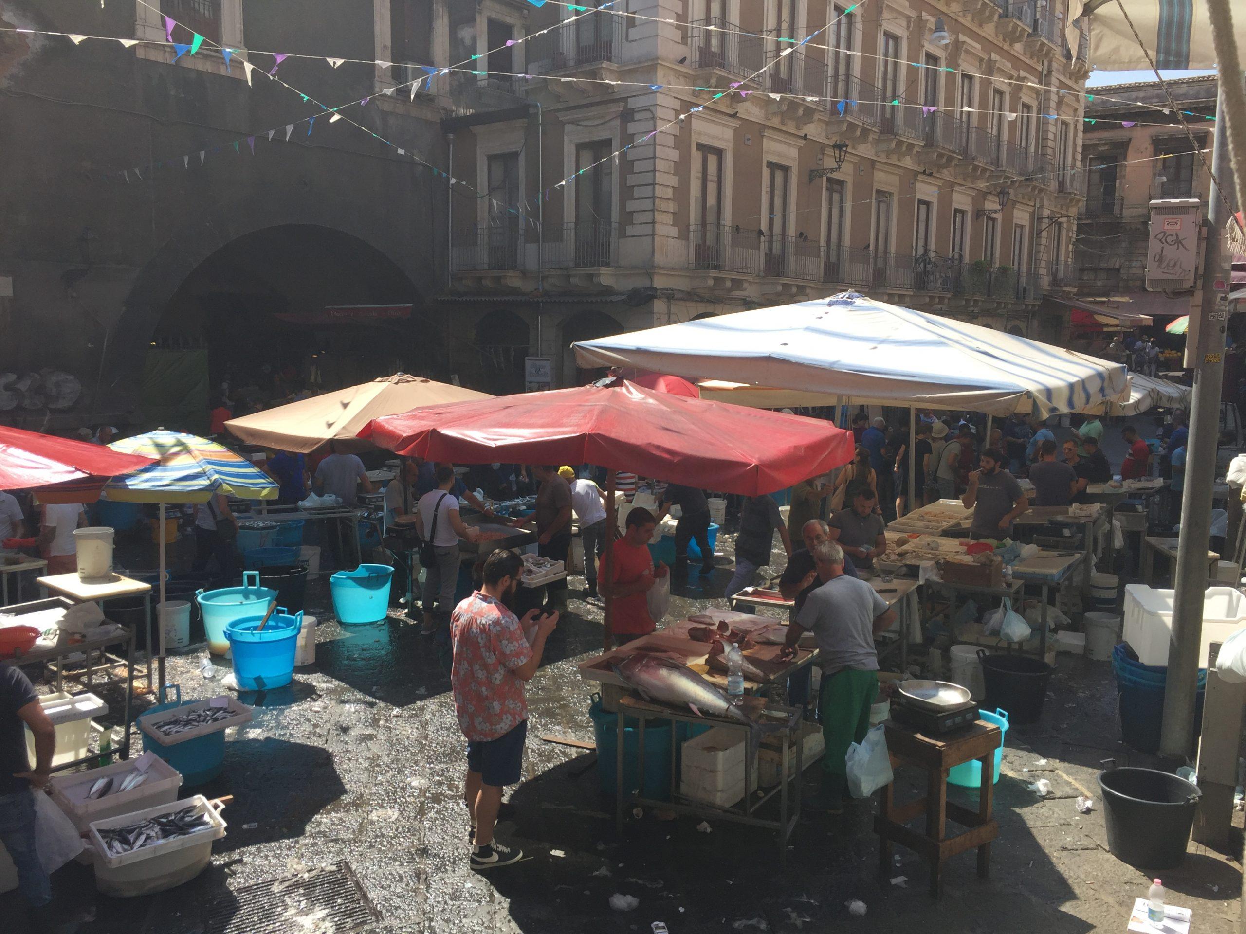Mercato Catania Tour