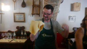 Making Pasta in Umbria